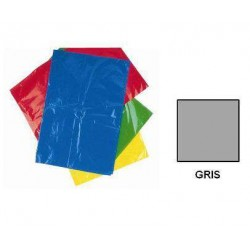 BOLSA DISFRACES PLASTICO 65X90 GRIS