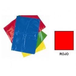 BOLSA DISFRACES PLASTICO 65X90 ROJA