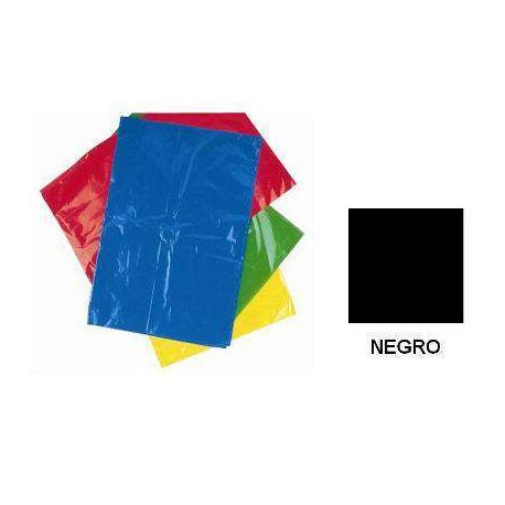 BOLSA DISFRACES PLASTICO 65X90 NEGRA