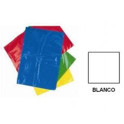 BOLSA DISFRACES PLASTICO 65X90 BLANCA