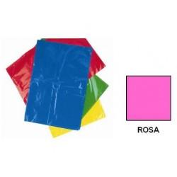 BOLSA DISFRACES PLASTICO 65X90 ROSA