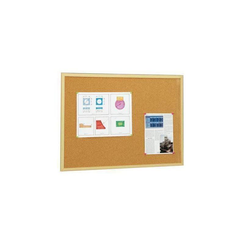 Tablero corcho marco madera 60x90 - Tablero madera ...