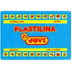 PLASTILINA JOVI GRANDE 350 GR AZUL CLARO