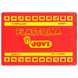 PLASTILINA JOVI GRANDE 350 GR ROJA