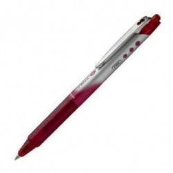 (L) ROTULADOR PILOT V-BALL 07 RETRACTIL ROJO