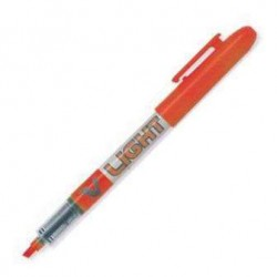 MARCADOR PILOT V-LIGHT NARANJA