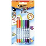 ROTULADOR VELLEDA BIC KIDS MINI E/6
