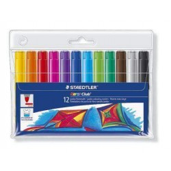 ROTULADOR STAEDTLER NORIS CLUB 340 C/12 COLORES