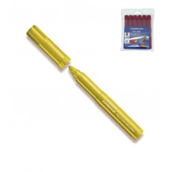 (L) ROTULADOR STAEDTLER NORIS CLUB 340 E/6 AMARILL
