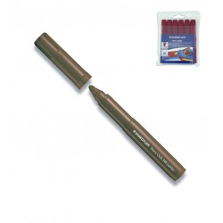 (L) ROTULADOR STAEDTLER NORIS CLUB 340 E/6 MARRON