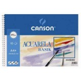 LAMINA ACUARELA GUARRO BASIK A4+ LISO PACK 6 H.