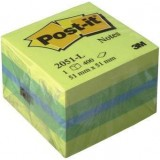NOTAS ADHESIVAS POST-IT 51X51 MINICUBO LIMON