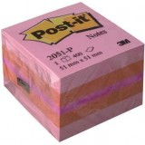 NOTAS ADHESIVAS POST-IT 51X51 MINICUBO ROSA