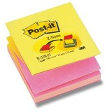 (L) NOTAS ADHESIVAS POST-IT Z 76X76 NEON R330N