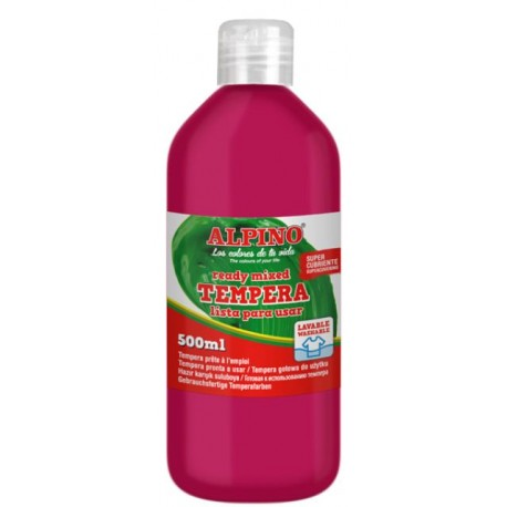 TEMPERA LIQUIDA ALPINO MAGENTA 500 ML