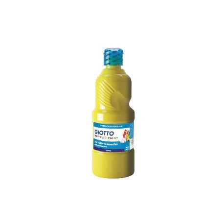 PINTURA ACRILICA GIOTTO 500 ML AMARILLO