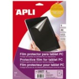 FILM PROTECTOR PANTALLA TABLET PC APLI 12677