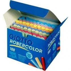 TIZA GIOTTO ROBERCOLOR C/100 BARRAS COLORES
