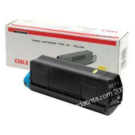 TONER OKI C-5100/5200/5300/5400 AMARILLO 42127405