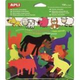 (L) GOMETS APLI REMOVIBLES ANIMALES GRANJA 12254