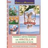 LIBRO PATRONES: ANIMALES Y ADORNOS CON ARCILLA