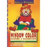 LIBRO PATRONES: WINDOW COLOR ALEGRE Y DIVERTIDO