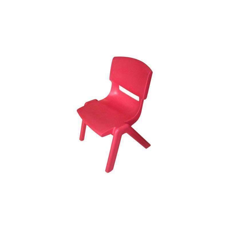 silla ergonomica escolar 46 cm adulto roja