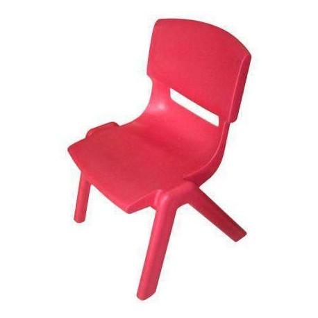 Silla ergonomica escolar 40 cm roja for Silla escolar ergonomica