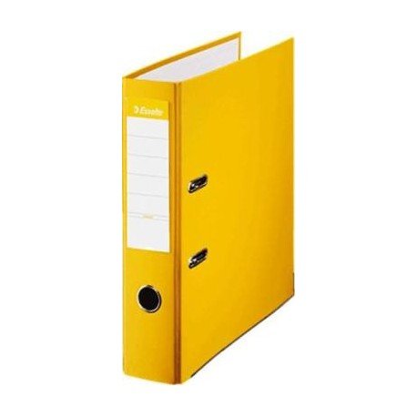 ARCHIVADOR FORRADO FOLIO 75 ESSELTE AMARILLO