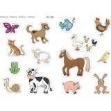 GOMETS APLI A4 ANIMALES 2H 12825