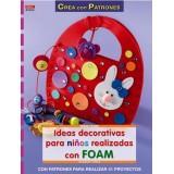 LIBRO PATRONES: GOMA EVA IDEAS INFANTILES