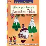 LIBRO PATRONES: FIELTRO ADORNOS DE NAVIDAD