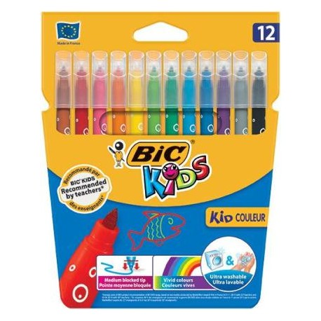 (L) ROTULADOR BIC COULEUR C/12 COLORES SURTIDOS
