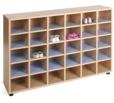 Juan sola mobiliario y equipamiento educativo perchas for Mueble zapatero baldas